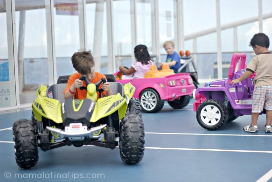 Power Wheels aboard Royal Caribbean Allure of the Seas