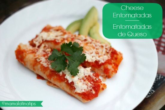 Cheese Entomatadas Recipe