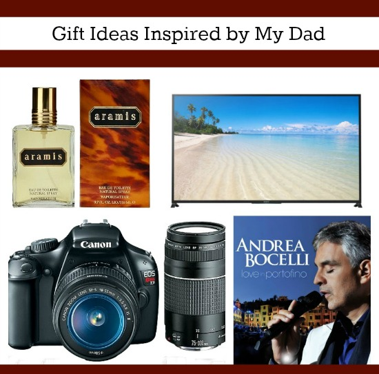gifts inspired by dad