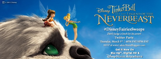 Join us for a #DisneyFairiesSweeps Twitter Party