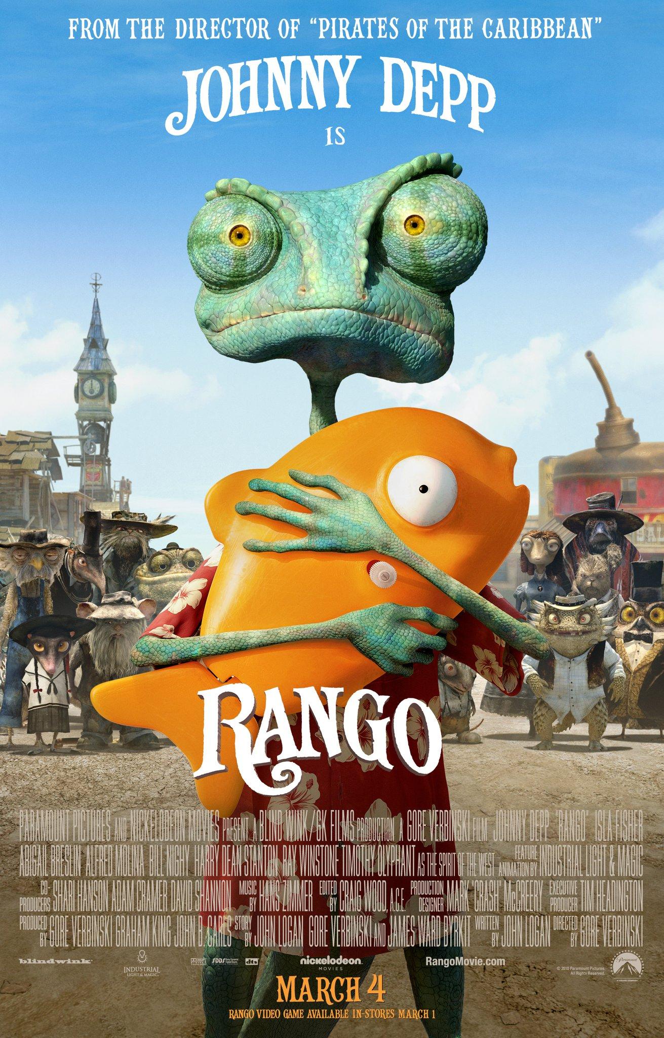 Sábado de Película – Rango – Movie Saturday