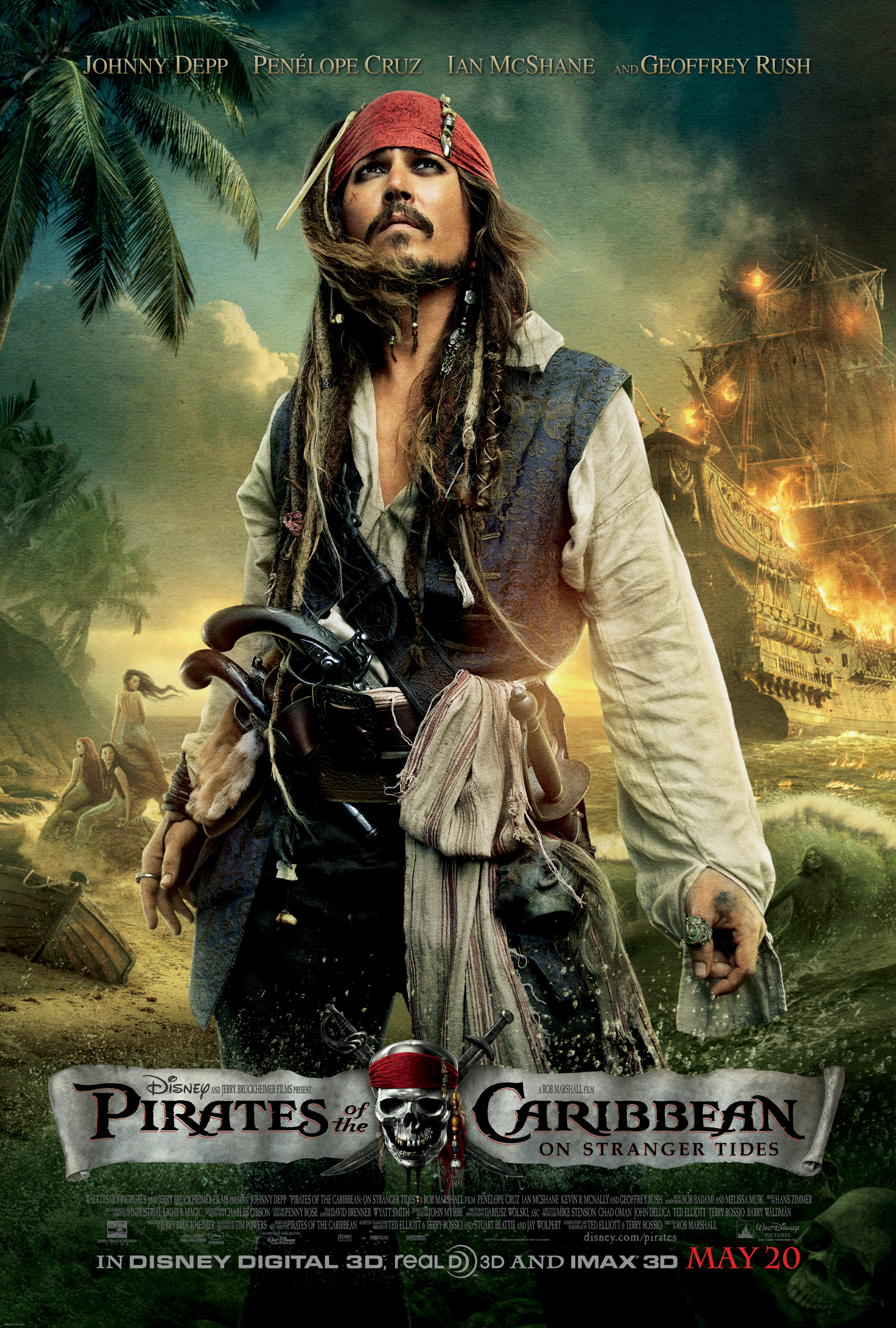 Pirates of the Caribbean: Stranger Tides World Premier Sweepstakes