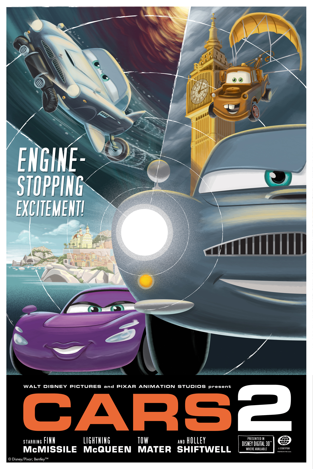 Prepara tus Motores para Cars 2