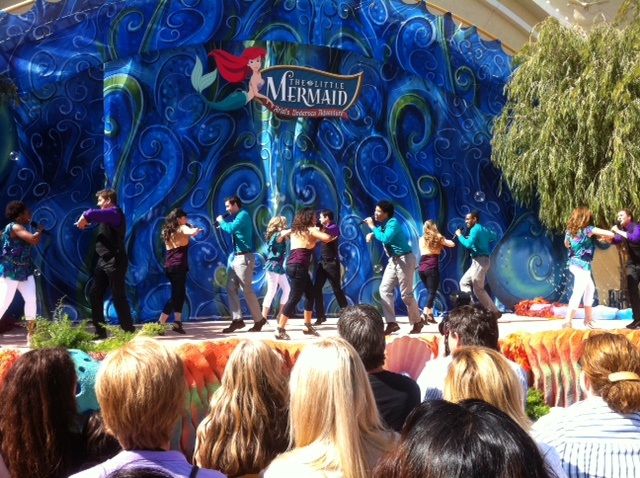 Gran Inauguración en Disneyland Resort / Big party at the Disneyland Resort