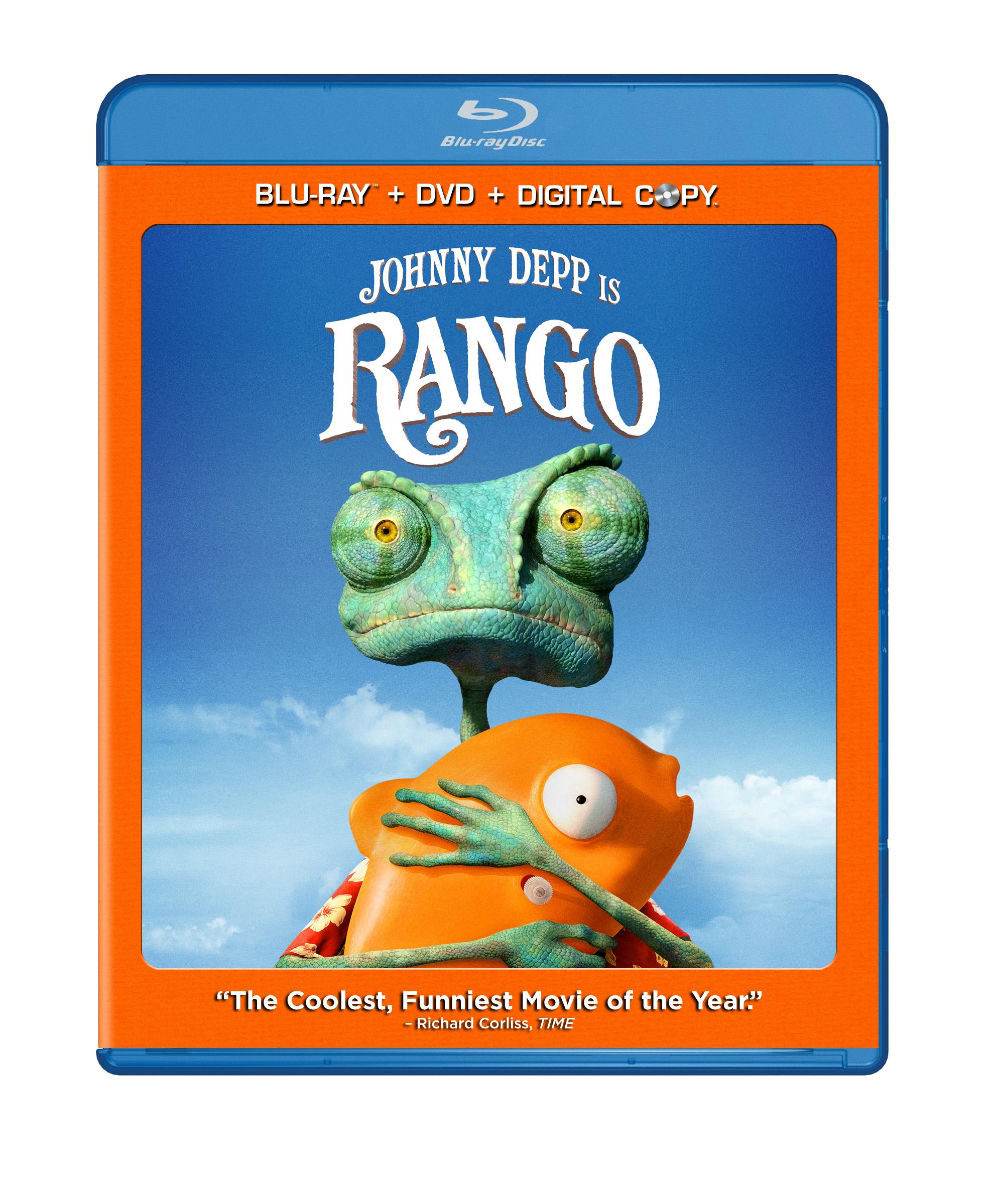 Rango in Blu-ray/DVD