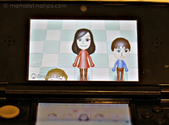 StreetPass and Mii Maker Nintendo 3DS Features