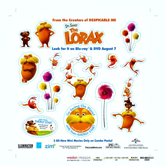 Dr Seuss The Lorax Full Movie In English: Dr. Seuss' The Lorax In Stores