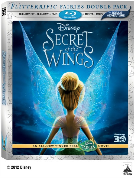 Secret of the Wings Blu-ray/DVD