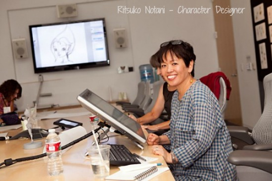 Ritsuko Notani Character Designer Secret of the Wings