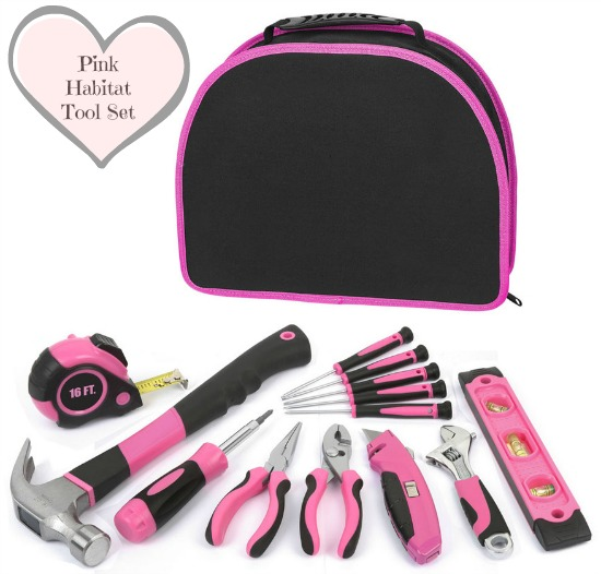 Pink toolset lowes