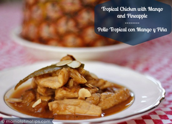 Chicken with Pineapple and Soy Sauce