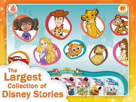 Bedtime Reading with the Disney Storytime App