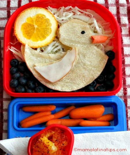Happy Ducky Bento Box