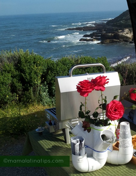 Tailgating on the Pacific coast
