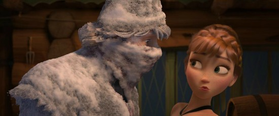 Anna and Kristoff - Frozen