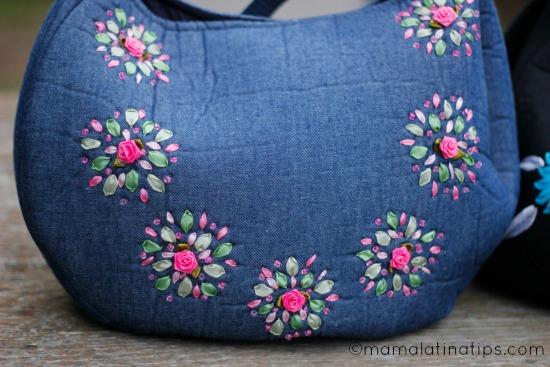 bolsa de mezclilla - mamalatinatips.com