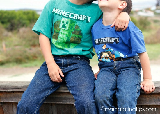 Minecraft shirts from Target - mamalatinatips.com