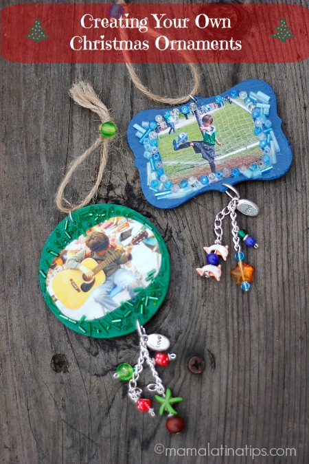 Creating your own christmas ornaments