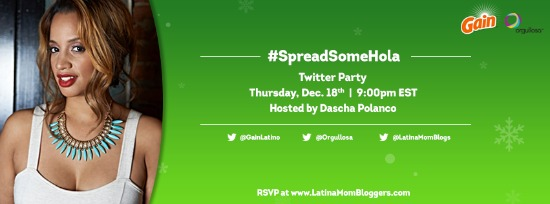 Come to the #SpreadSomeHola Bilingual Twitter Party
