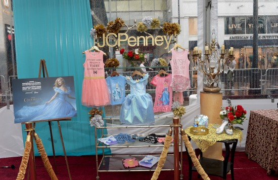 Cinderella line at JCPenney