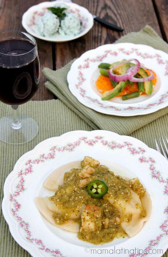 Pierogies con Pollo en Salsa Verde – Sorteo de $100 Dólares