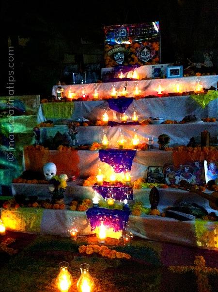 Altares de Muertos en México - mamalatinatips.com