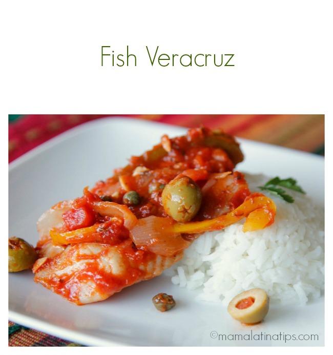 Fish veracruz recipe mama latina tips for Fish veracruz recipe