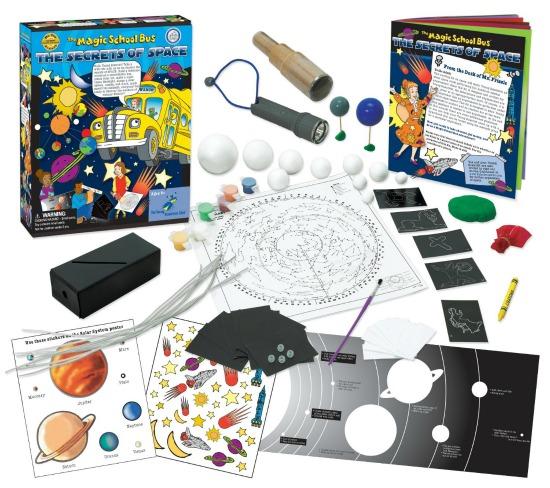 The magic school bus secret of space activities for kids
