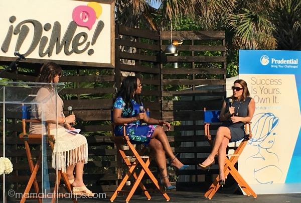 Prudential Panel at DiMe Summit - mamalatinatips.com