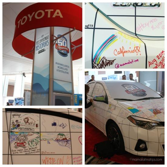 Toyota Corolla Canvas at Hispanicize 2016 - mamalatinatips.com