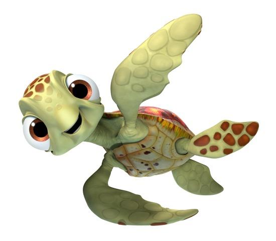 Squirt - Finding Dory - mamalatinatips.com