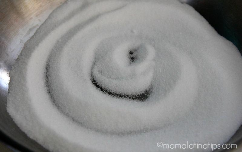 sugar in a skillet by mamalatinatips.com