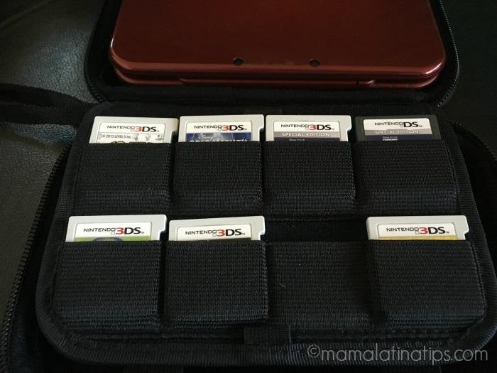 Juegos de Nintendo 3DX LX dentro del estuche - mamalatinatips.com