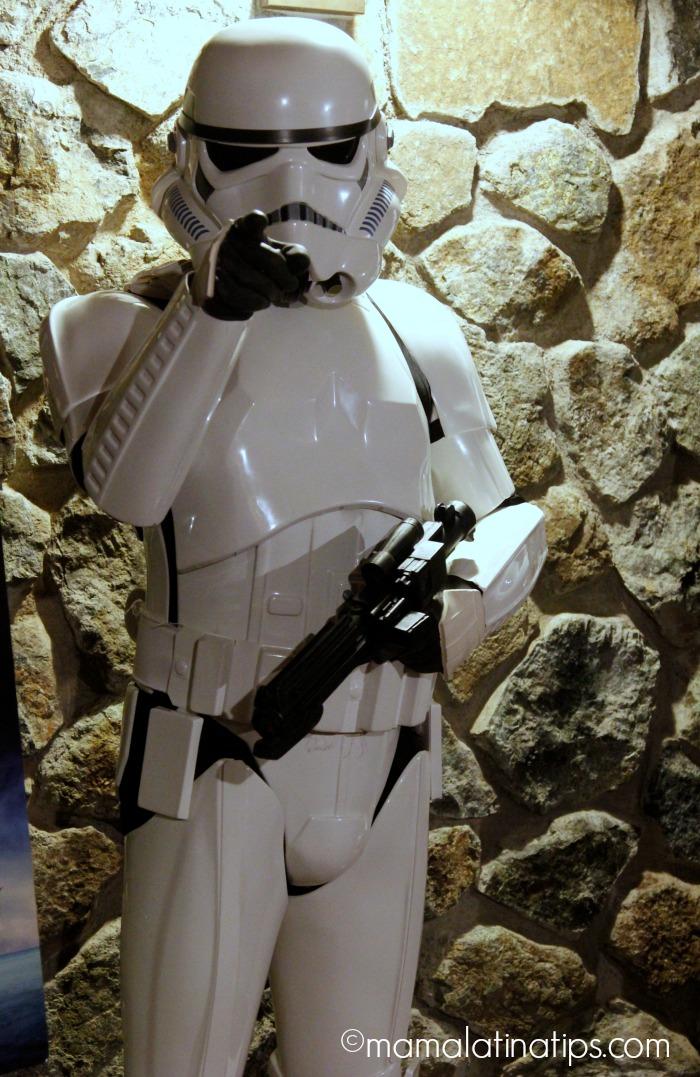 Stormtropper at Skywalker Ranch - mamalatinatips.com