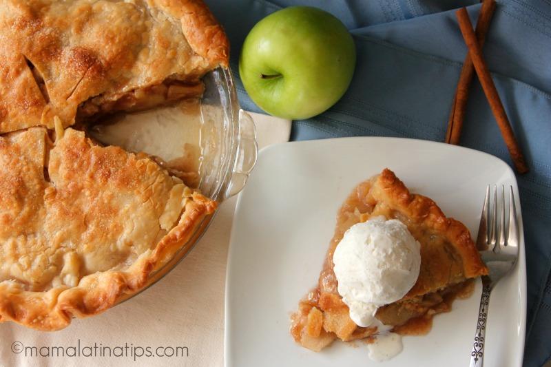 Apple Ginger Pie a la mode