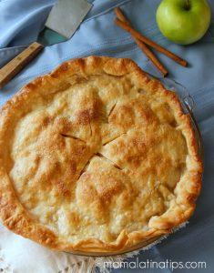 apple ginger pie