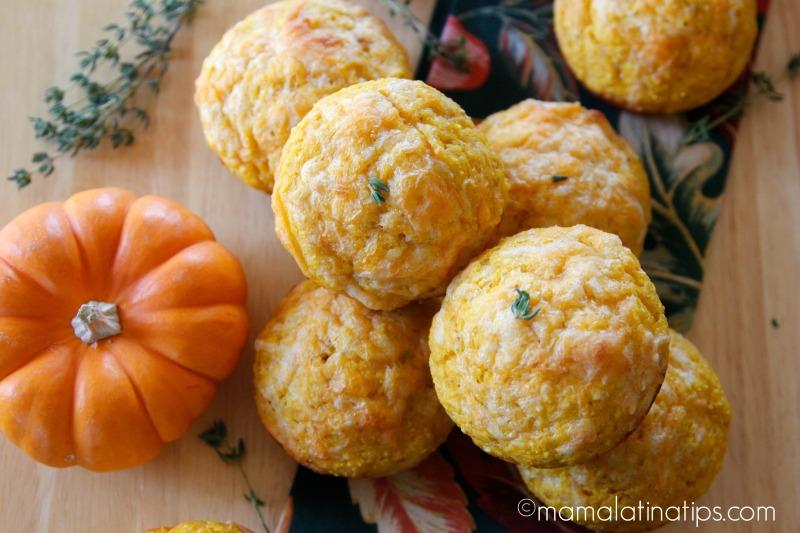 Pumpkin Cornbread Muffics