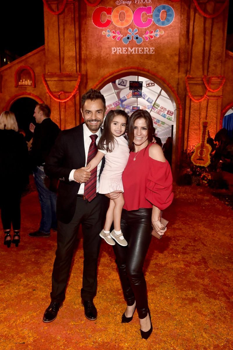 Coco Premiere Eugenio Derbez Alessandra Rosaldo Mama