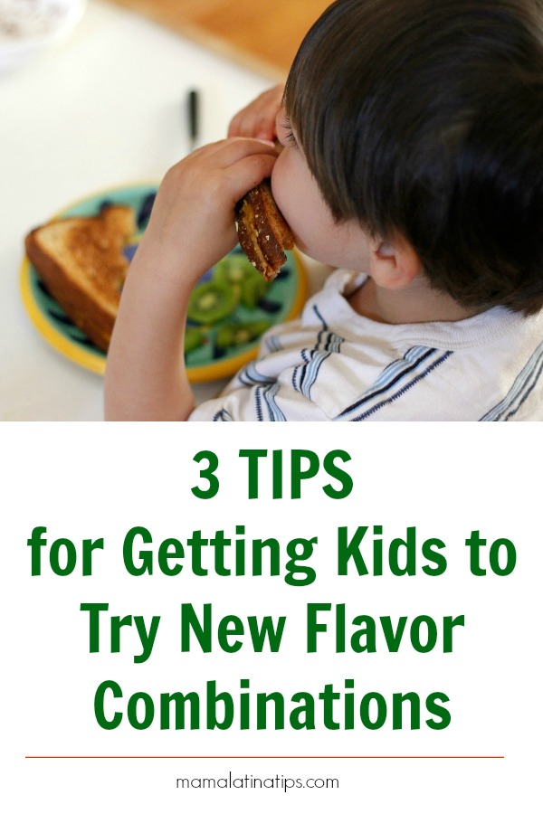 Do you have picky eaters at home? Try these 3 easy & fun tips for getting kids to try new flavor combinations. You may be surprised! #flavorfullfun #pickyeaters