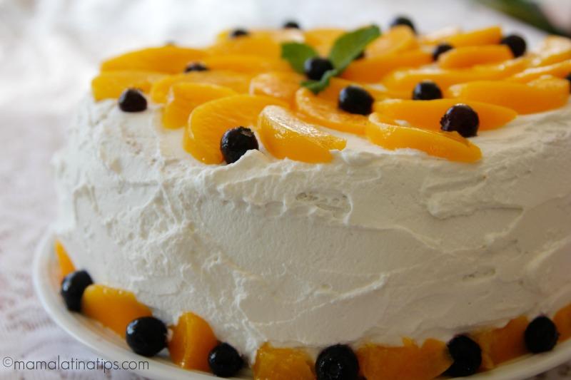 Prime Layered Three Milk Cake Recipe Mama Latina Tips Funny Birthday Cards Online Kookostrdamsfinfo