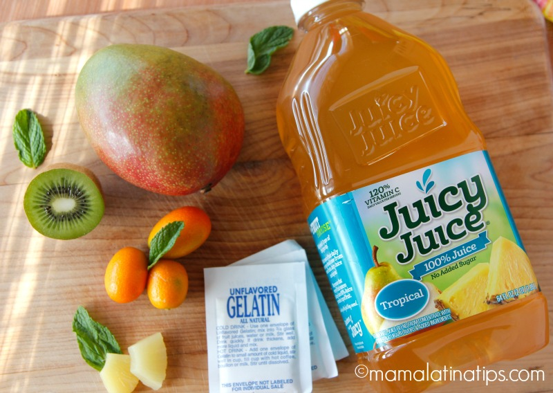 tropical gelatin ingredients