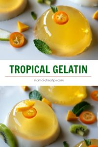 Tropical Gelatin