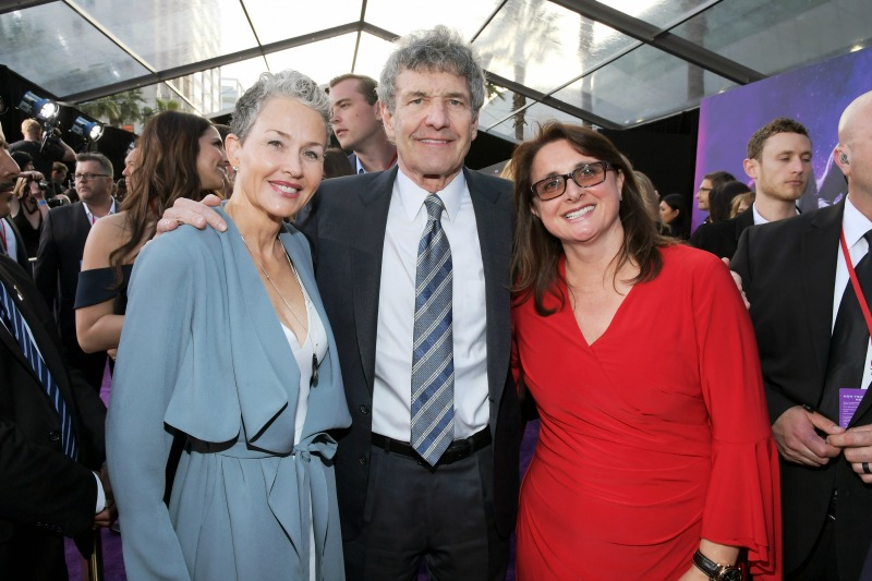 Imelda Corcoran, Alan Horn and Victoria Alonso - Avengers: Infinity War premiere