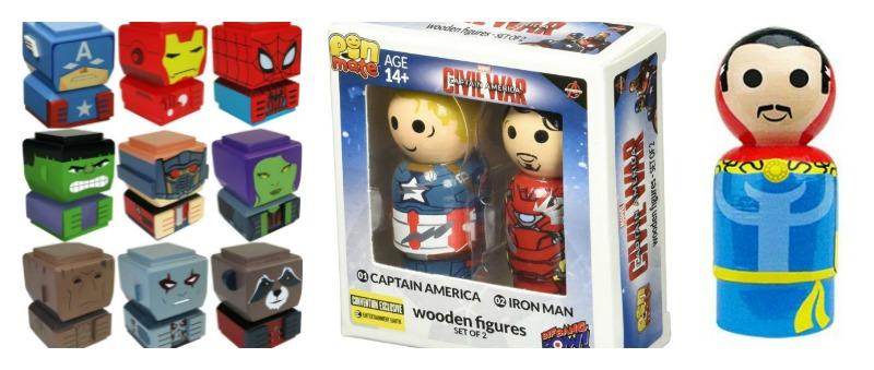 Marvel Avengers Wooden Toys