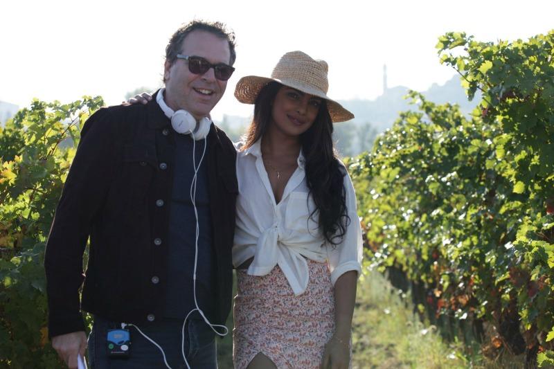 Michael Seitzman and Priyanka Chopra