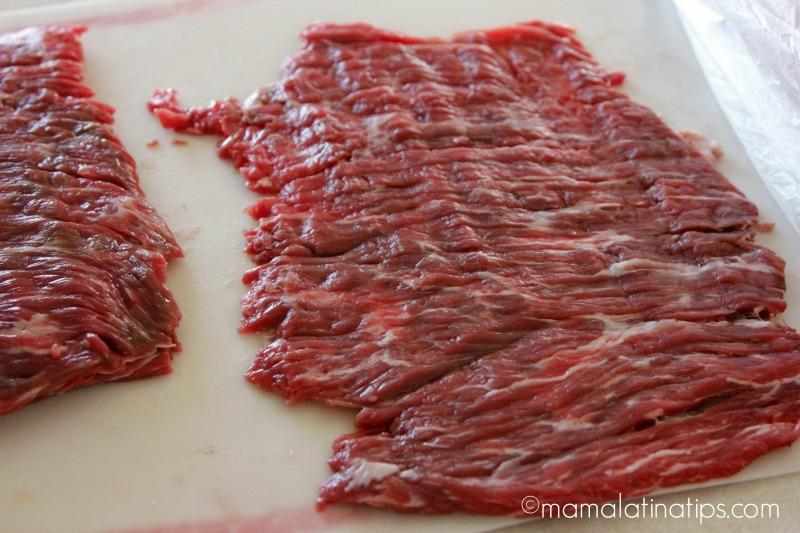 flaten raw flank steak