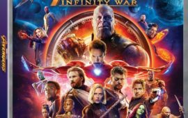 Avengers Infinity War Blu-ray Bonus Content and Giveaway