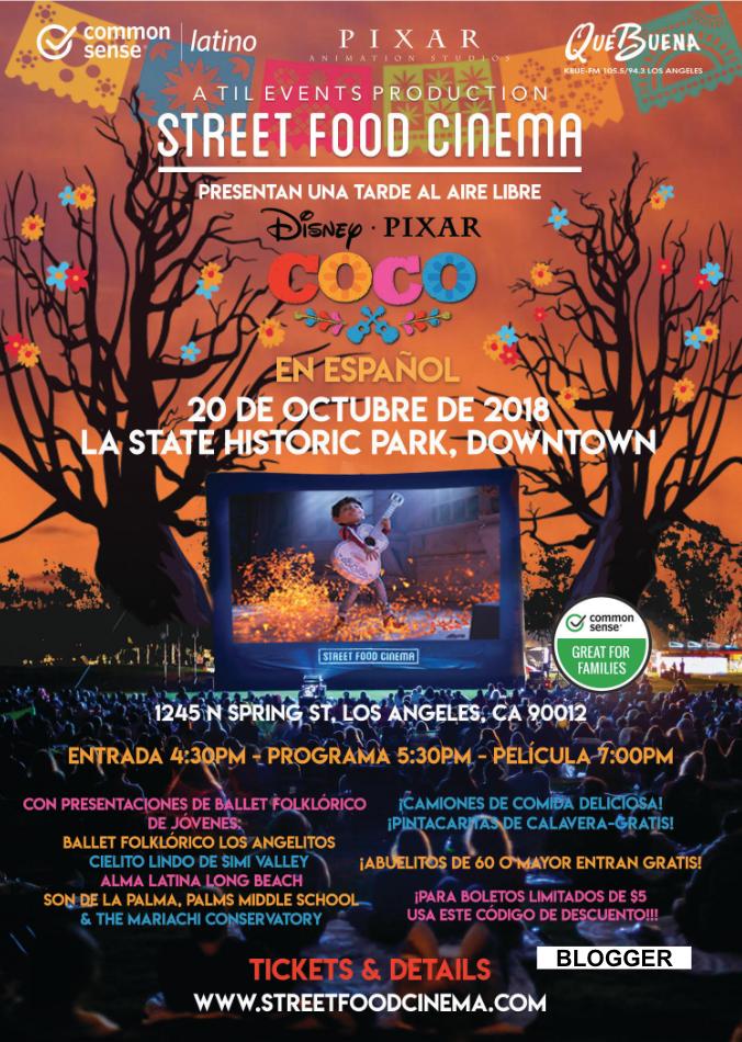 Coco presentation flyer