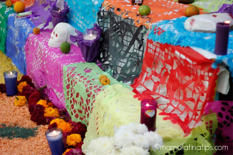 Day of the Dead display