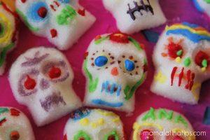 calaveritas de azúcar comestibles